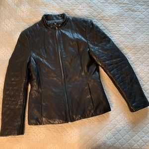 Warm Lined Leather Jacket